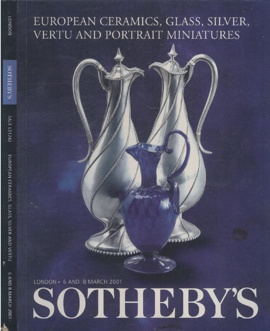 Sotheby´s - European Ceramics Glass Silver Vertu - 6 And 8 March 2001