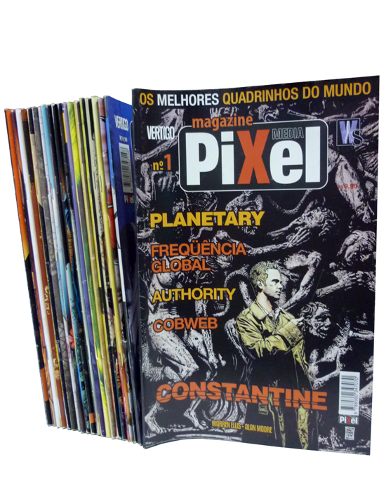 Pixel Magazine - 21 Volumes - Do Nº.01 ao Nº.21