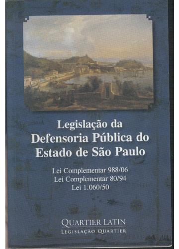Legislação da Defensoria Pública do Estado de São Paulo