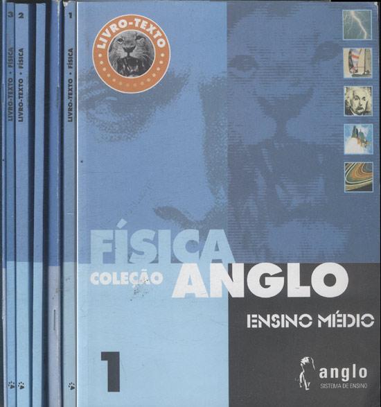 Coleção Anglo - Física - 3 Livro-Textos + 3 Cadernos de Exercícios