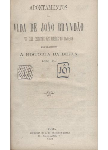 Apontamentos da Vida de João Brandão
