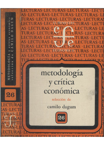 Metodología y Crítica Económica