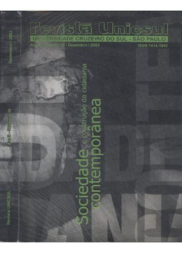 Revista Unicsul - Ano 8 - Número 10 - Dezembro - 2003