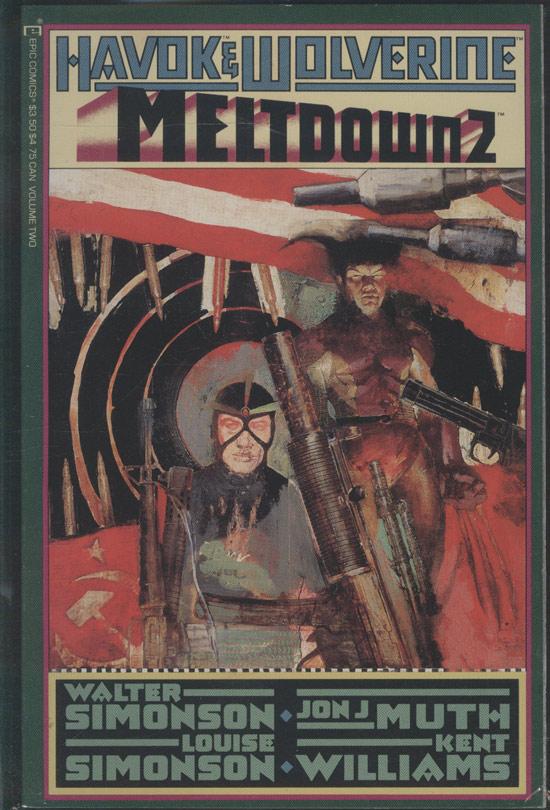 Havok & Wolverine - Meltdown - Volume 2 (em inglês)