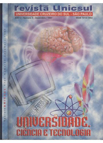 Revista Unicsul - Ano 2 - Número 3 - Dezembro - 1997