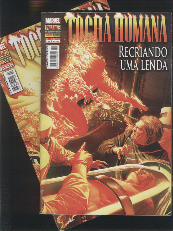 Tocha Humana - Recriando uma Lenda - Minissérie Completa em 2 Edições