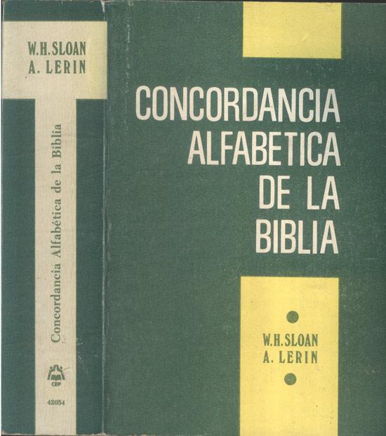 Concordancia Alfabetica de la Biblia