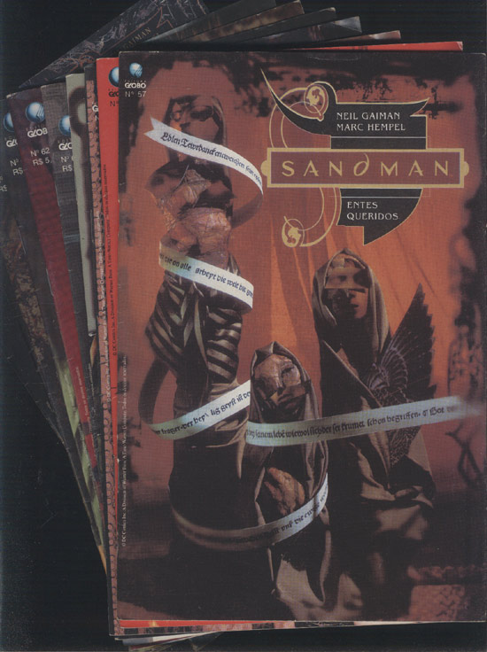 Sandman - Entes Queridos - 10 Volumes - Do Nº.57 ao Nº.66