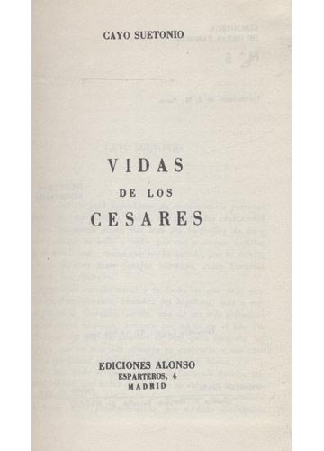 Vida de los Cesares