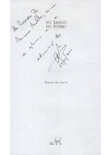 No Âmago do Íntimo - Com Dedicatória do Autor
