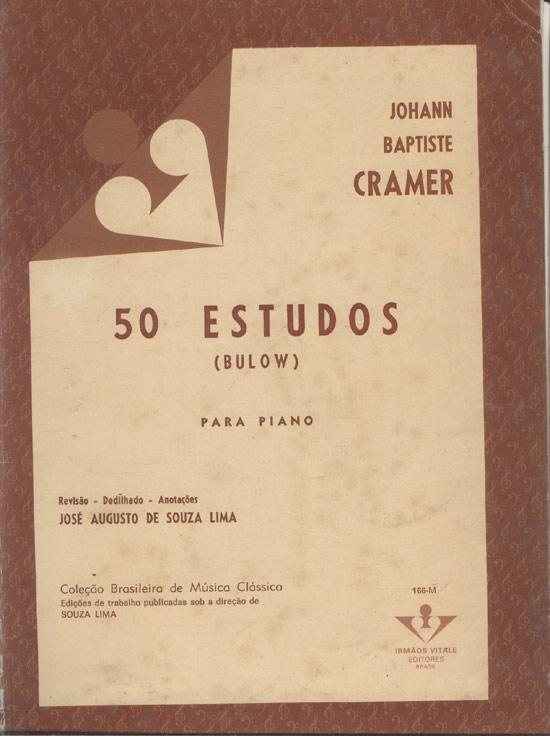 50 Estudos Para Piano - (Partituras)