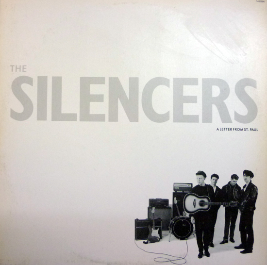 The Silencers - A Letter from St. Paul - Com encarte