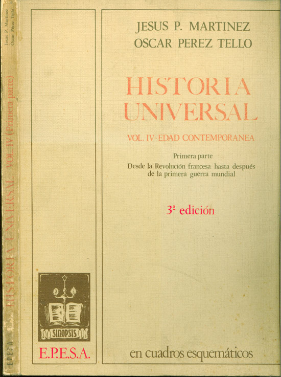 Historia Universal - Volume IV - Edad Contemporanea - Primeira parte