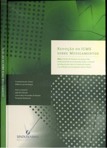 Redução do ICMS Sobre Medicamentos