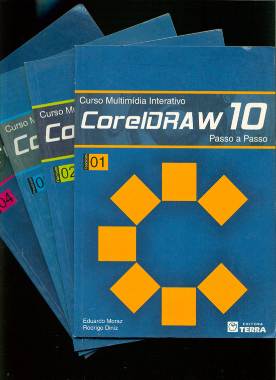 CorelDraw 10 - Curso Multimídia Interativo - 4 Volumes - Sem CDs