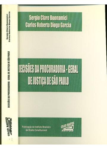 Decisões da Procuradoria - Geral de Justiça de São Paulo