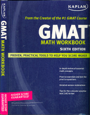 GMAT - Math Workbook