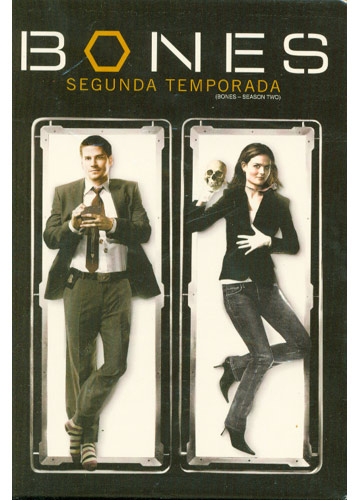 Bones - 2ª Temporada - 6 DVDs