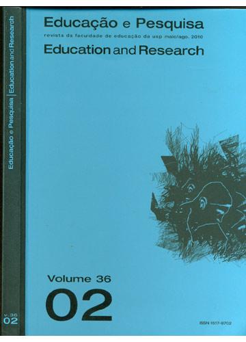 Educação e Pesquisa - Education And Research - Volume 36 - Número 2