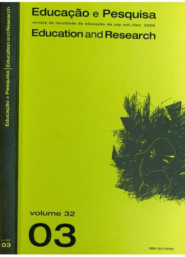 Educação e Pesquisa - Education And Research - Volume 32 - Número 2