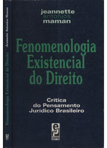 Fenomenologia Existencial do Direito