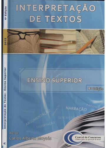 Interpretação de Textos - Ensino Superior
