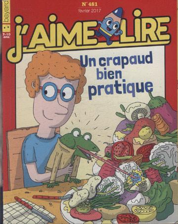 Un Crapaud Bien Pratique - J'aime Lire - Nº.481
