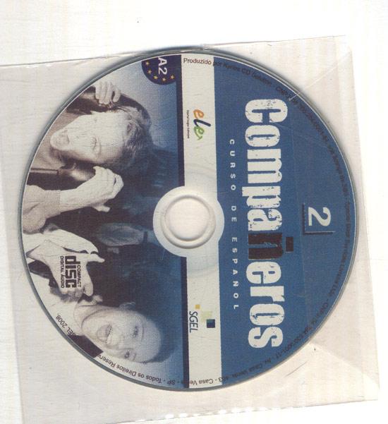 Compañeros - Curso de Español - Com CD + Livro de Exercícios - A2