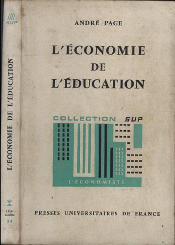 L'économie de L'éducatiion