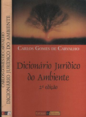 Dicionário Jurídico do Ambiente