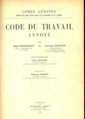 Code du Travail - Annoté