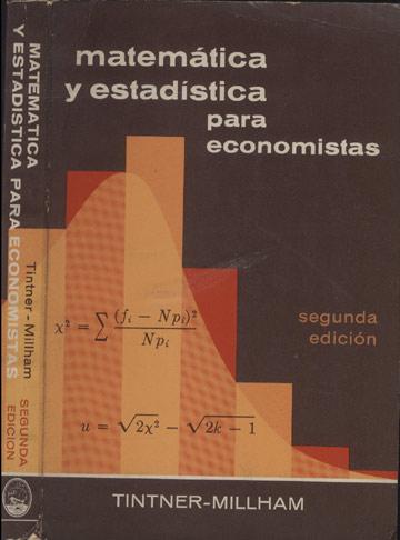 Matemática y Estadística para Economistas