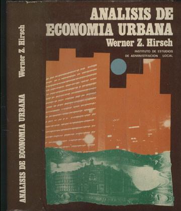 Analisis de Economia Urbana
