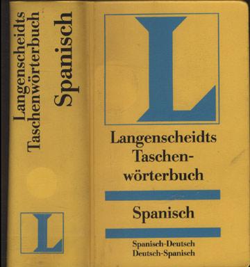 Langenscheidts Taschenwörterbüch - Spanisch
