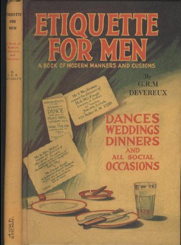 Etiquette For Men