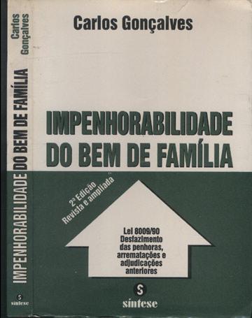 Impenhorabilidade do Bem de Família