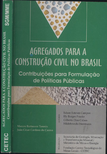 Agregados Para a Construção Civil no Brasil