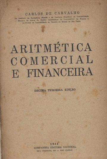 Aritimética Comercial e Financeira