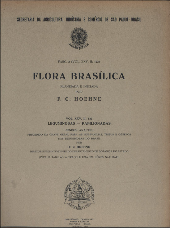Flora Brasílica - Fasc. 2 - Volume. XXV - II -  122 - Leguminosas - Papilionadas