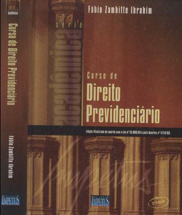 Curso de Direito Previdenciário