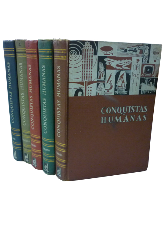 Conquistas Humanas - 5 Volumes
