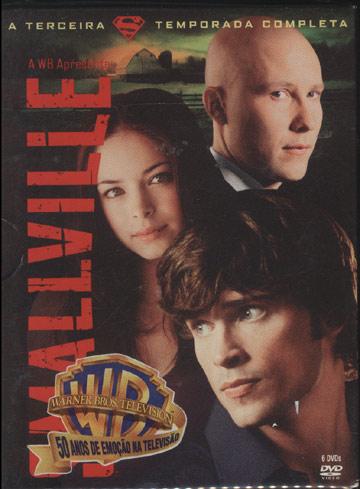 Smallville - Terceira Temporada Completa - Box *6 Discos*