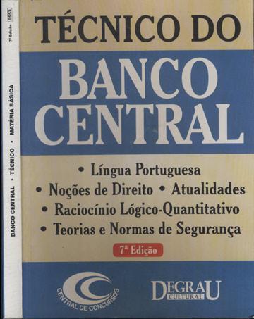 Técnico do Banco Central - Contabilidade