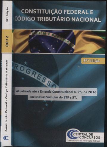 Constituição Federal e Código Tributário Nacional