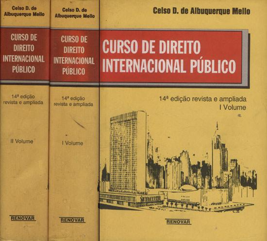Curso de Direito Internacional Publico - 2 Volumes