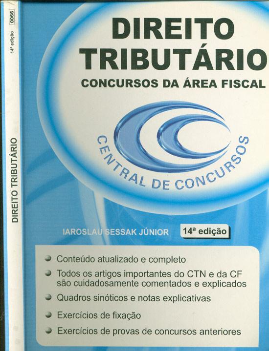 Direito Tributário - Concursos da Área Fiscal