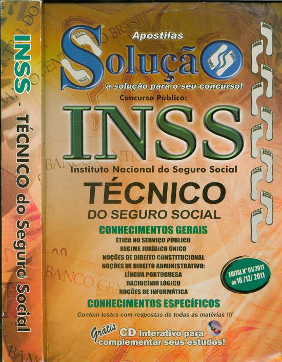 INSS - Técnico do Seguro Social - Sem CD