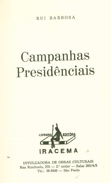 Campanhas Presidenciais