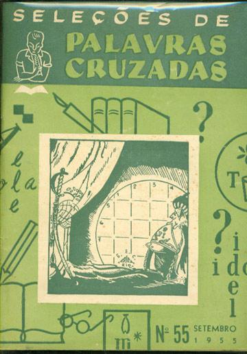 Seleções de Palavras Cruzadas - Nº.55 - Setembro 1955