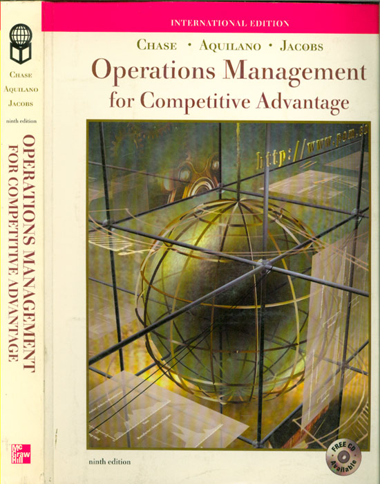 Operations Management for Competitive Advantage - com CD